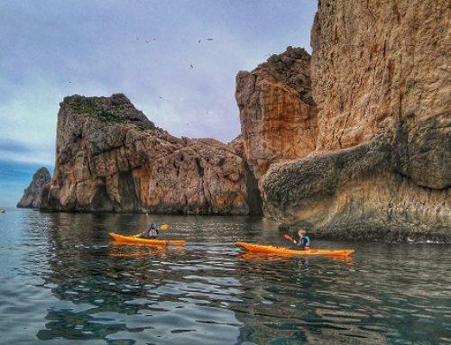Kayak dans les îles Medes
