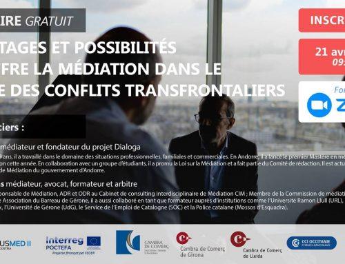 Avantages et possibilités qu'offre la médiation dans le cadre des conflits transfrontaliers
